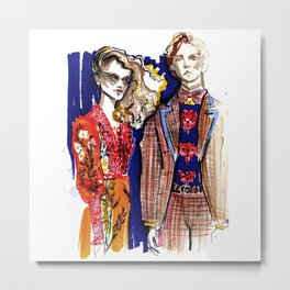 Fashion illustration 2017 Metal Print