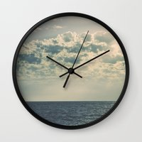 fitzgerald Wall Clocks featuring The Nearness of You by Sharon RG Photography