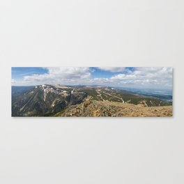 View from Sniezka Canvas Print