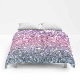 Unicorn Girls Glitter #5 #shiny #pastel #decor #art #society6 Comforters