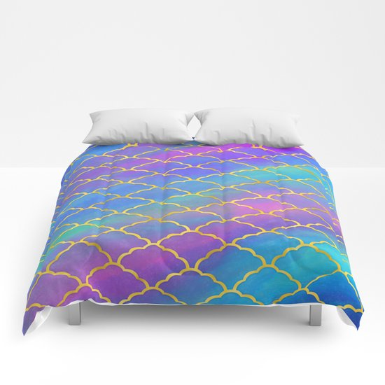 Painted Pattern Comforters