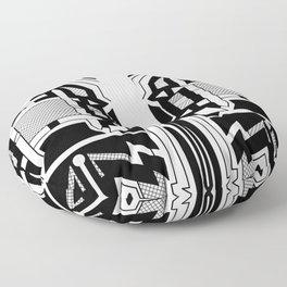 Monolith - Art Deco Design Floor Pillow