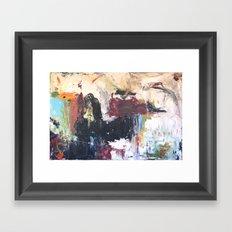 In Colour Framed Art Print