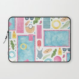 By The Pool Laptop Sleeve