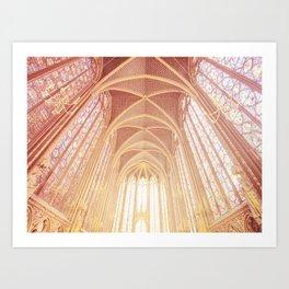Saint Chapelle Paris Art Print