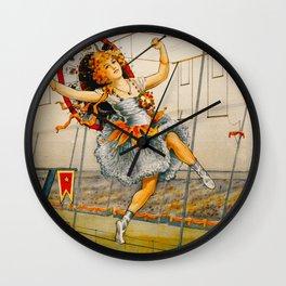Vintage Sells Floto Circus Ad Wall Clock