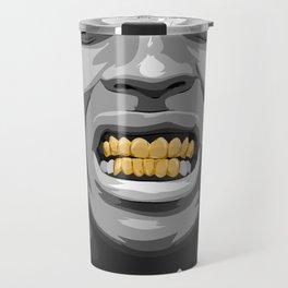 ASAP ROCKY Gold/GRILLz ! Travel Mug
