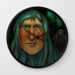 Hemlock Wall Clock