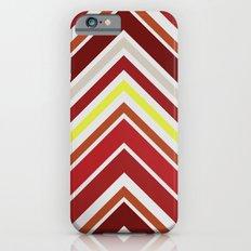 Red Chevron iPhone 6s Slim Case