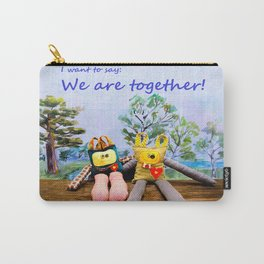 We are togheter Carry-All Pouch