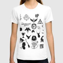 potter's head T-shirt