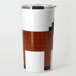Square Horse Remix Bay Coat Travel Mug