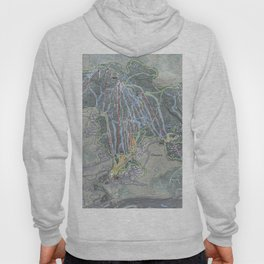 Okemo Resort Trail Map Hoody