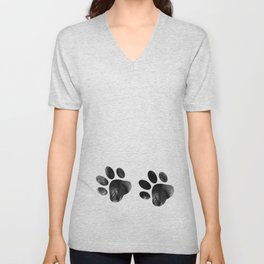 Cat's footprints Unisex V-Neck