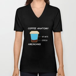 Barista Coffee Maker Addict Brewer Unisex V-Neck