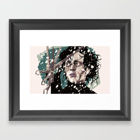 Handy man Framed Art Print