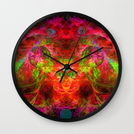 The Flying Shaman Wall Clock