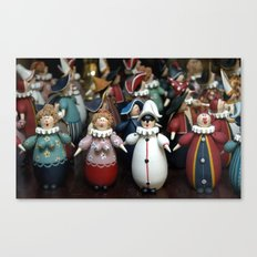 At The Dance Canvas Print