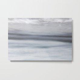 Sea motion, abstract Metal Print