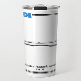 "Concorde - Air France ""Classic Colours"" Travel Mug"