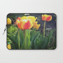Spring Tulips in Bloom Laptop Sleeve