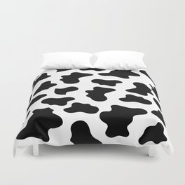Moo Cow Print Duvet Cover