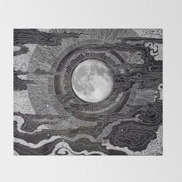 Moon Glow Throw Blanket