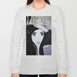Melinda. Illustrated from the book Tempting Tempo by Author Michelle Mankin. Long Sleeve T-shirt