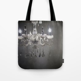 chandelier in NYC Tote Bag