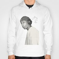 2pac Hoodies featuring BIG L / Put It On by Gold Blood