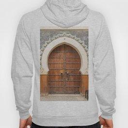 Doorway Number 30 - Fes, Morocco Hoody
