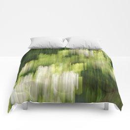 Green Hue Realm Comforters
