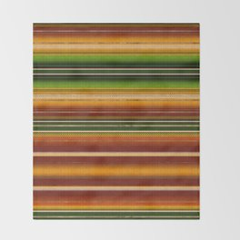 Mexican serape #1 Throw Blanket