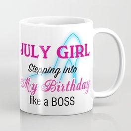 July Girl Birthday Coffee Mug
