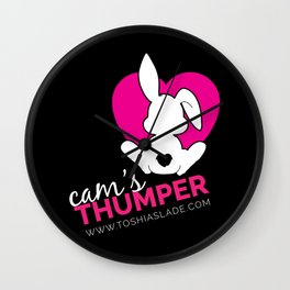 Cam's Thumper [Dark] Wall Clock