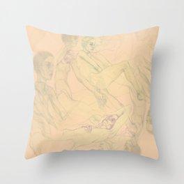 OF Throw Pillow