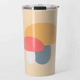 Mushroom Caps Travel Mug