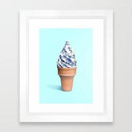 Antique Ice cream Framed Art Print
