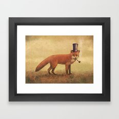 Crazy Like a Fox  Framed Art Print