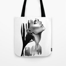 Paint Rain Tote Bag