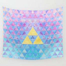 Zelda Geometry Wall Tapestry
