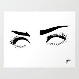 eyez on the prize Art Print