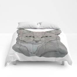 My Cat Carlos Comforters