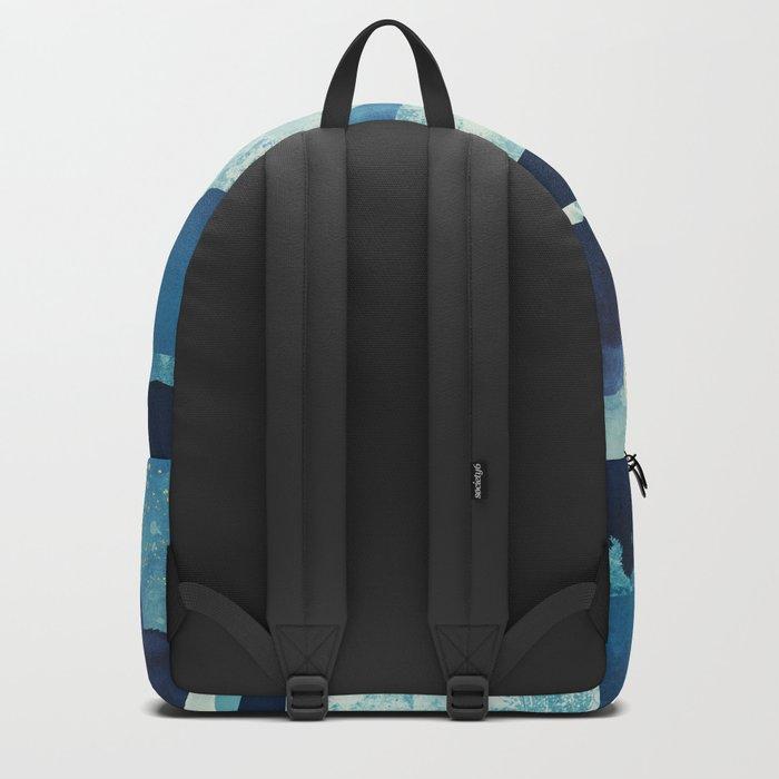 Blue Desert Backpack