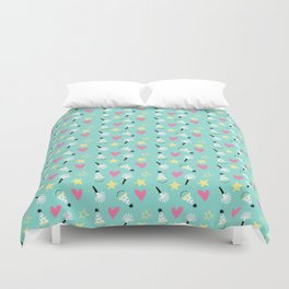 Party stars Duvet Cover