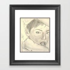 BadRiri Framed Art Print