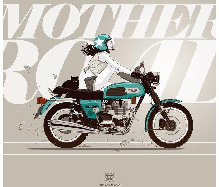 The Mother Road Metal Travel Mug