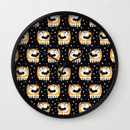 My favorite Bat -Pattern Wall Clock