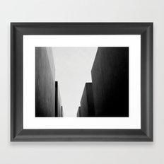 Memorial, Berlin, Germany. Framed Art Print