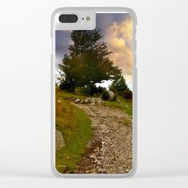 Grayson Highlands Path Clear iPhone Case